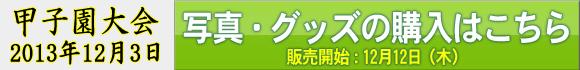 甲子園大会2013年12月3日 写真・グッズの購入はこちら